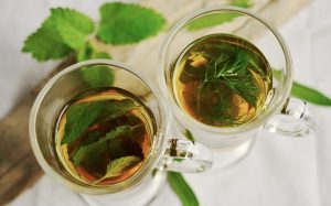 Cups of Mint Tea